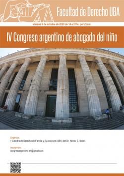 IV Congreso argentino de abogado del niño