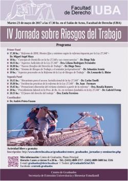 IV Jornada sobre Riesgos del Trabajo