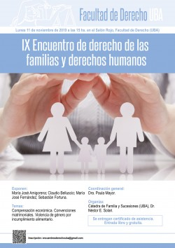 IX Encuentro de derecho de las familias y derechos humanos