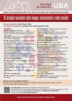 IX Jornadas nacionales sobre imagen, comunicación y redes sociales