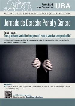 Jornada de Derecho Penal y Género