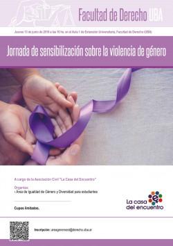 Jornada de sensibilización sobre la violencia de género