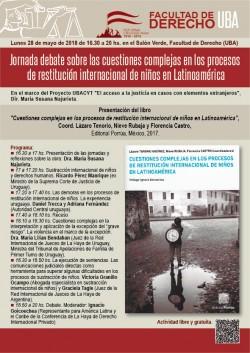 Jornada debate sobre las cuestiones complejas en los procesos de restitución internacional de niños en Latinoamérica