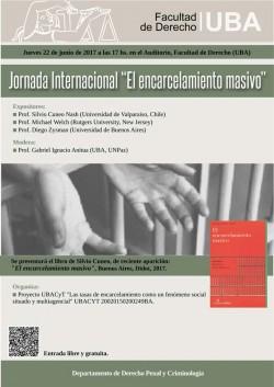 """Jornada Internacional """"El encarcelamiento masivo"""""""