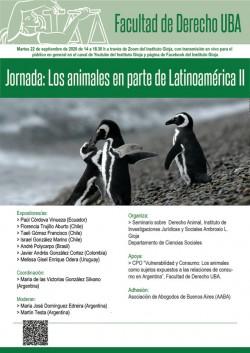Jornada: Los animales en parte de Latinoamérica II