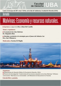 """Jornada """"Malvinas: Economía y recursos naturales"""""""