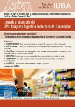 Jornada preparatoria del XVIII Congreso Argentino de Derecho del Consumidor