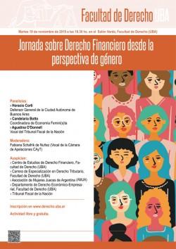 Jornada sobre Derecho Financiero desde la perspectiva de género