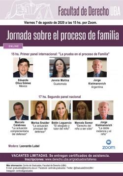 Jornada sobre el proceso de familia