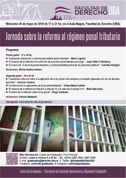 Jornada sobre la reforma al régimen penal tributario