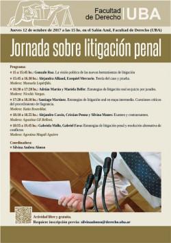 Jornada sobre litigación penal