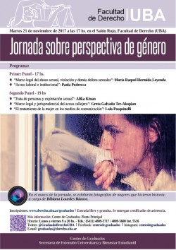 Jornada sobre perspectiva de género