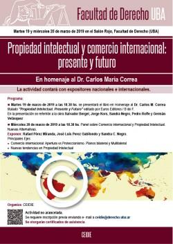 Propiedad intelectual y comercio internacional: presente y futuro
