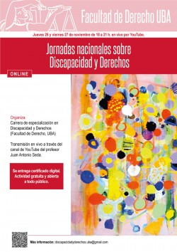 Jornadas nacionales sobre Discapacidad y Derechos