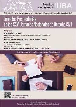 Jornadas Preparatorias de las XXVI Jornadas Nacionales de Derecho Civil