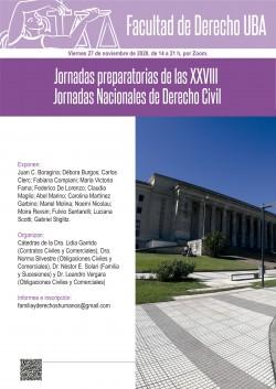 Jornadas preparatorias de las XXVIII Jornadas Nacionales de Derecho Civil