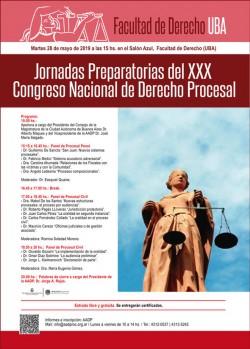 Jornadas Preparatorias del XXX Congreso Nacional de Derecho Procesal