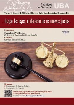 Juzgar las leyes, el derecho de los nuevos jueces