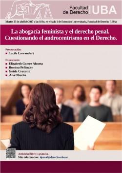 La abogacía feminista y el derecho penal. Cuestionando el androcentrismo en el Derecho