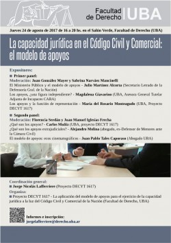 La capacidad jurídica en el Código Civil y Comercial: el modelo de apoyos