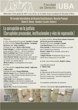 La corrupción en la justicia (Corruptelas procesales, institucionales y vías de reparación)