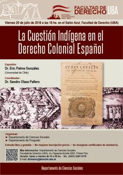 La Cuestión Indígena en el Derecho Colonial Español