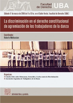 La discriminación en el derecho constitucional de agremiación de los trabajadores de la danza