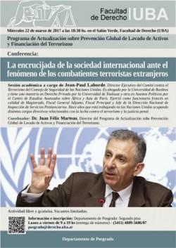 La encrucijada de la sociedad internacional ante el fenómeno de los combatientes terroristas extranjeros