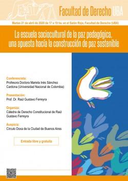 La escuela sociocultural de la paz pedagógica, una apuesta hacía la construcción de paz sostenible