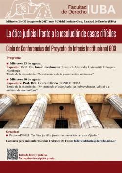 La ética judicial frente a la resolución de casos difíciles