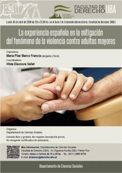 La experiencia española en la mitigación del fenómeno de la violencia contra adultos mayores