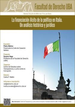 La financiación ilícita de la política en Italia. Un análisis histórico y jurídico