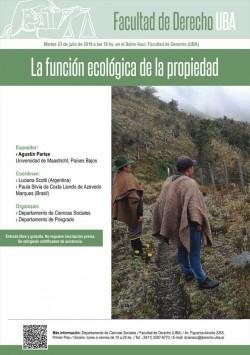 La función ecológica de la propiedad