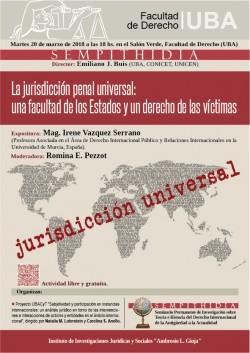 La jurisdicción penal universal: una facultad de los Estados y un derecho de las víctimas