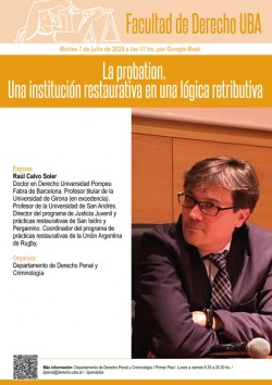 La probation. Una institución restaurativa en una lógica retributiva