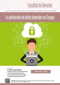 La protección de datos laborales en Europa