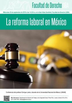 La reforma laboral en México