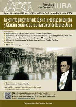 La Reforma Universitaria de 1918 en la Facultad de Derecho y Ciencias Sociales de la Universidad de Buenos Aires