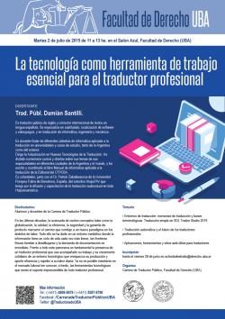 La tecnología como herramienta de trabajo esencial para el traductor profesional