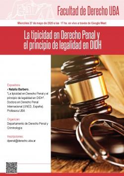 La tipicidad en Derecho Penal y el principio de legalidad en DIDH