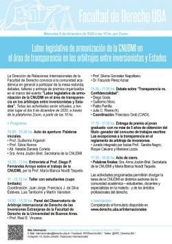 Labor legislativa de armonización de la CNUDMI en el área de transparencia en los arbitrajes entre inversionistas y Estados