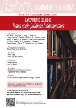 Lanzamiento del libro <i>Temas socio-jurídicos fundamentales</i>