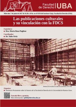 Las publicaciones culturales y su vinculación con la FDCS
