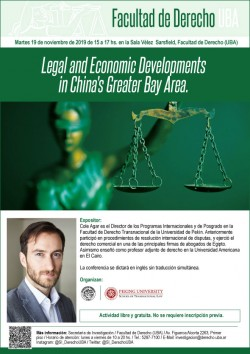 Legal and Economic Developments in China's Greater Bay Area