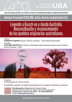 Leyendo a Kusch en y desde Australia. Reconciliación y reconocimiento de los pueblos originarios australianos