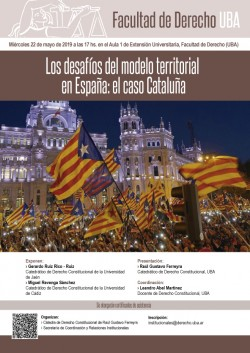 Los desafíos del modelo territorial en España: el caso Cataluña