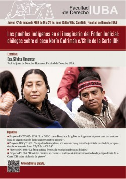 Los pueblos indígenas en el imaginario del Poder Judicial: diálogos sobre el caso Norín Catrimán c/ Chile de la CIDH