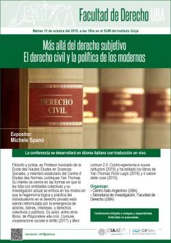 Más allá del derecho subjetivo. El derecho civil y la política de los modernos