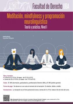 Meditación, mindfulness y programación neurolinguística