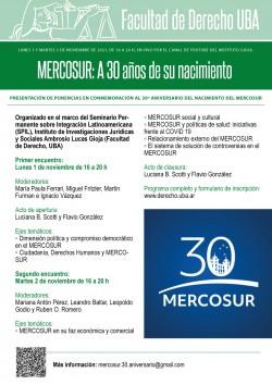 MERCOSUR: A 30 años de su nacimiento